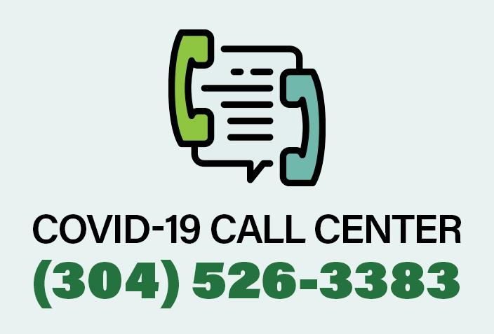 COVID-19 Call Center (304) 526-3383